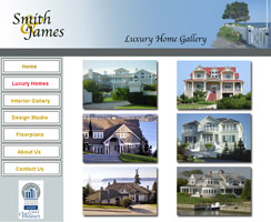 luxury home gallery page