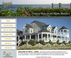 luxury homes website design